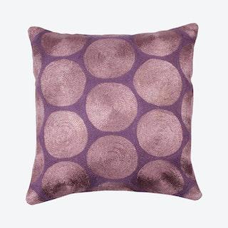 Aurea Square Pillow Cover - Purple