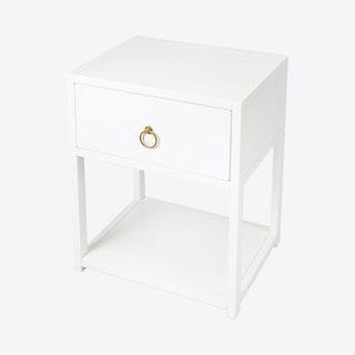Lark End Table - White