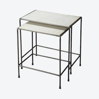 Carrera Nesting Tables - Set of 2