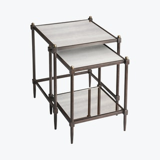 Peninsula Nesting Tables - Set of 2