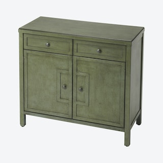 Imperial Console Cabinet - Green
