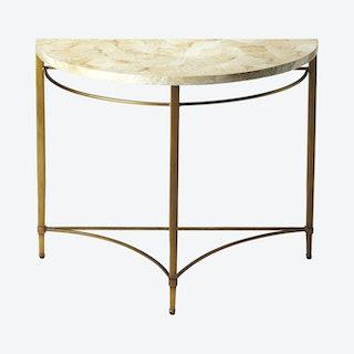 Marlena Demilune Console Table