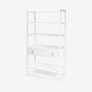 Lark Bookshelf - White