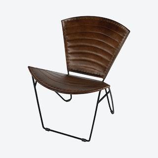 Felix Accent Chair - Medium Brown
