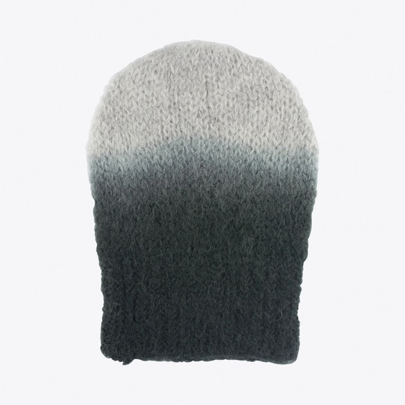 d58551ace5ab9 Digo Mohair Beanie in Grey Ombre by AURA QUE. Discover Hats on Fy