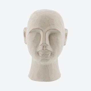 Gris Geometric Bust - White - Ceramic