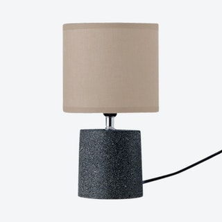 Nik Table Lamp - Black - Cement