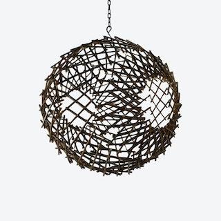 Sphere Sculpture - Natural - Twig