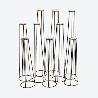 Archer Cluster 9-Tube Vase