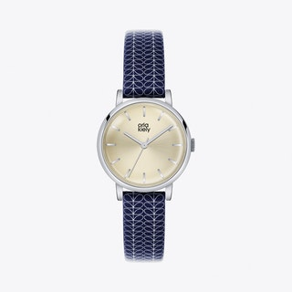 Patricia Watch in Gold & Navy