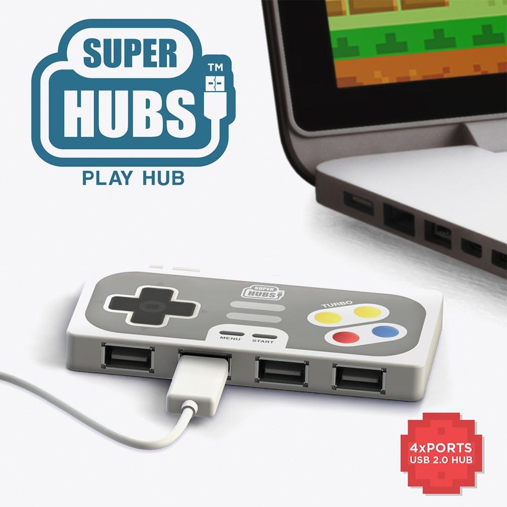 4 Port USB Playhub