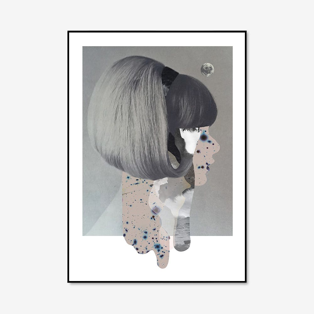 Hairstyles Print in A3