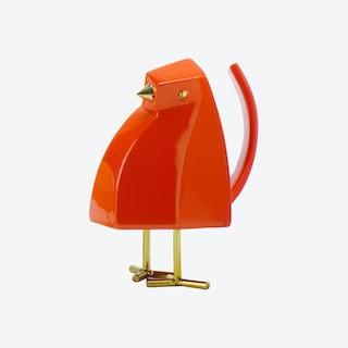 Bird Sculpture - Orange