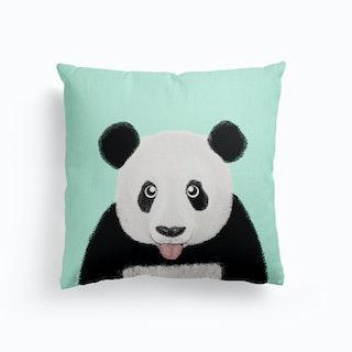 Cute Panda Canvas Cushion