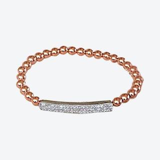 Bar Bracelet - Rose Gold