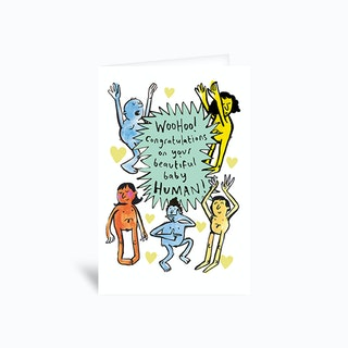 Beautiful Baby Human Greetings Card