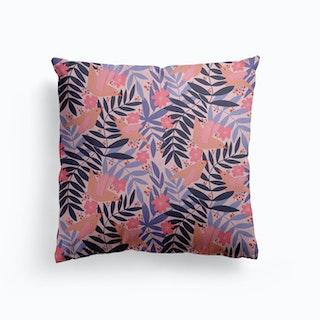 Love Birds Canvas Cushion