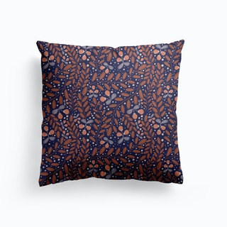 Forest Berries Canvas Cushion