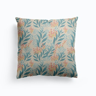 Countryside Garden Canvas Cushion
