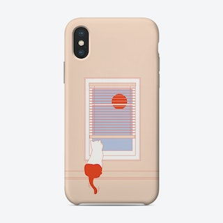 Afternoon Cat Phone Case