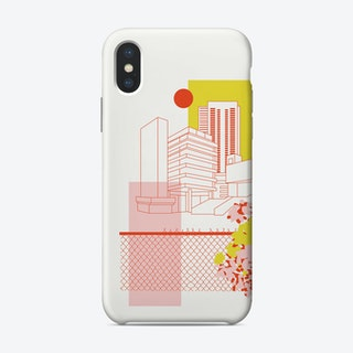 Brutalist Architecture Phone Case