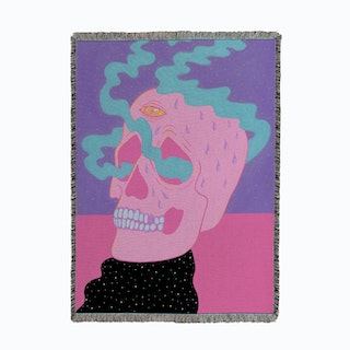 Burning On The Inside Woven Throw