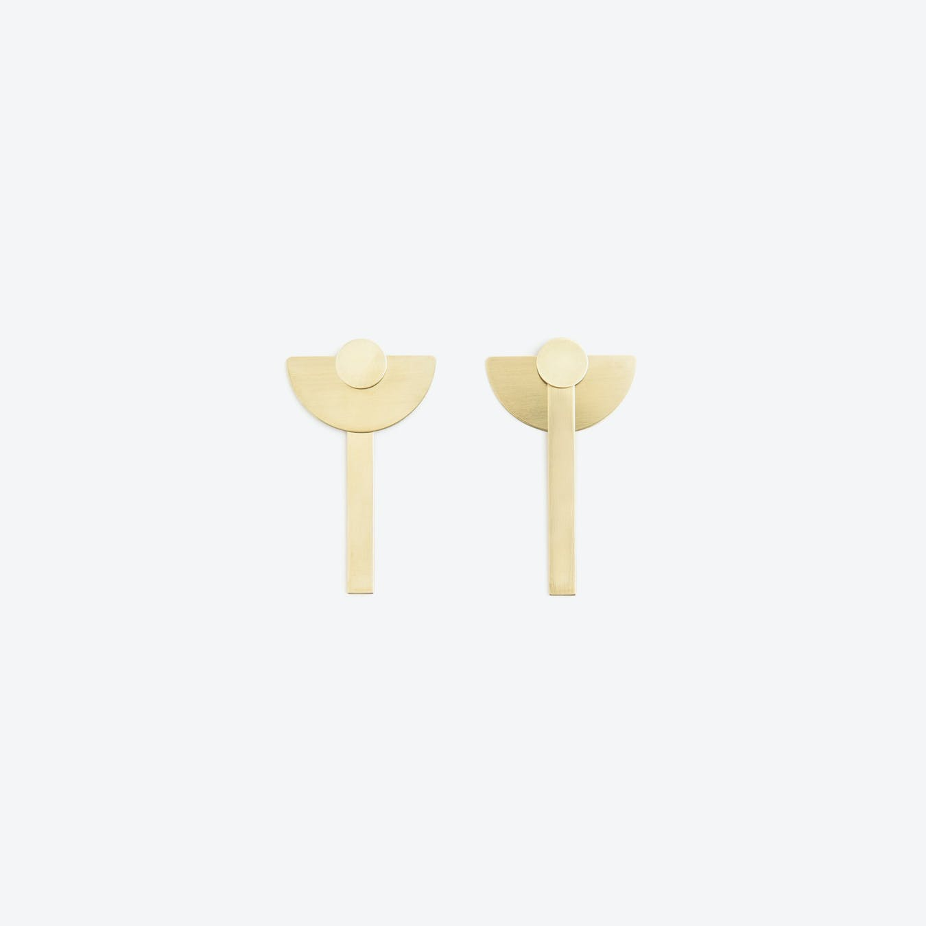 MOBIL Earrings N°1 / Brass