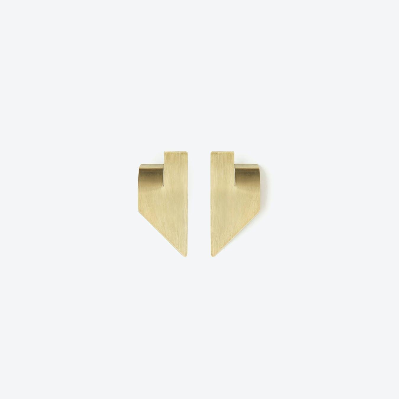SLIT Earrings N°2 / Brass