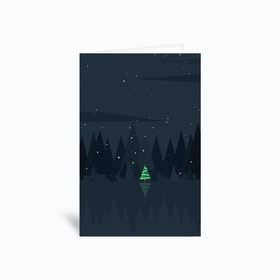 Christmastree 4x6 Greetings Card