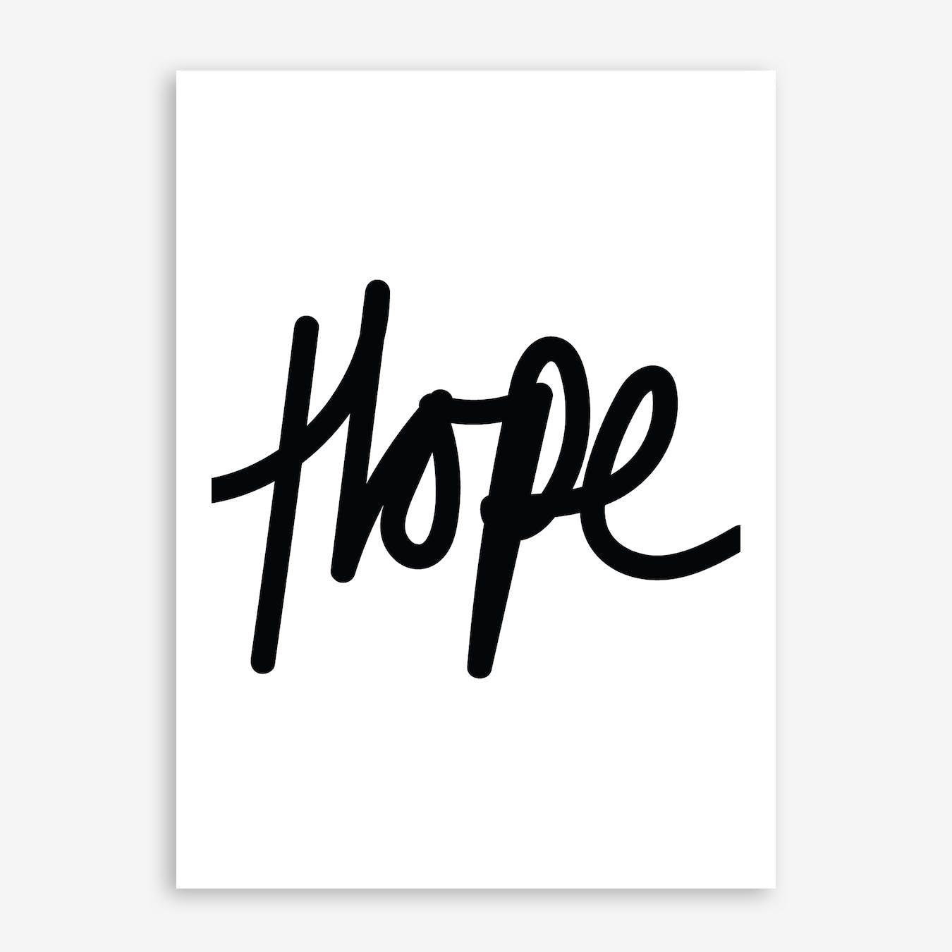 Hope Print