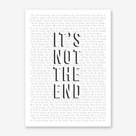 Just The Beginning Art Print