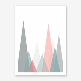 Scandi Forest Art Print