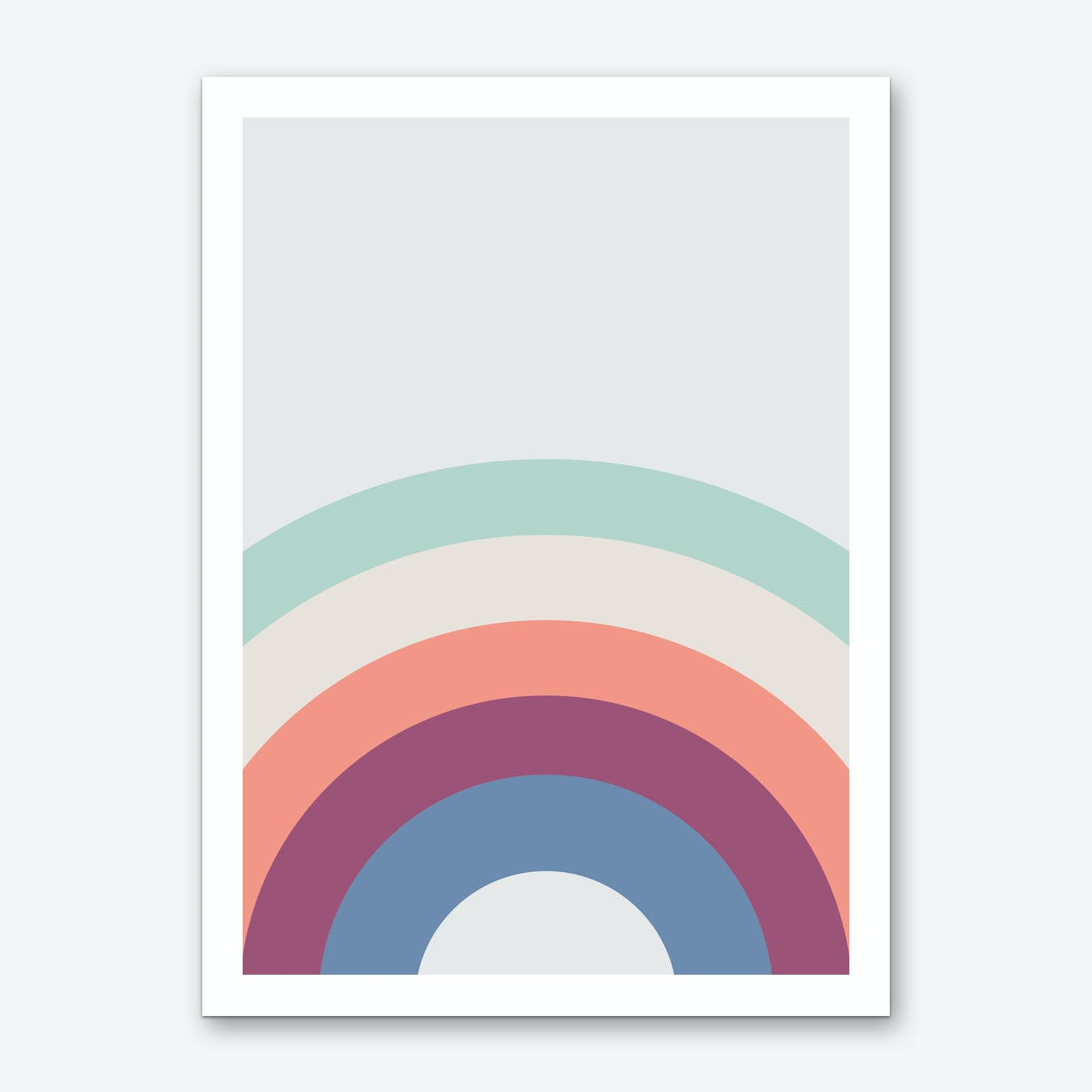 Rainbow Skies Art Print