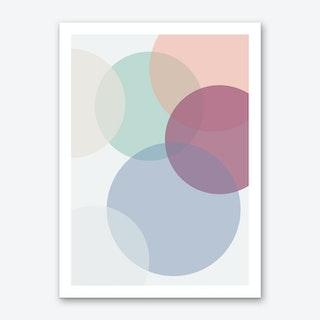 Bubbles 2.0 Art Print