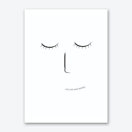 5 More Minutes Art Print