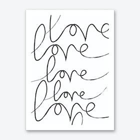 Long Lost Love Art Print