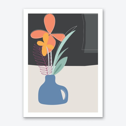 Kitchen Table Art Print