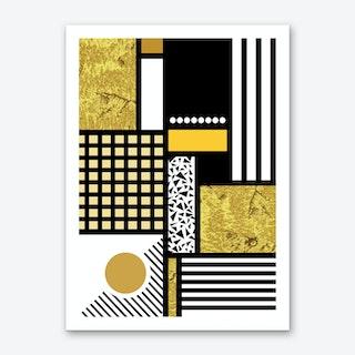 Stay Gold Art Print