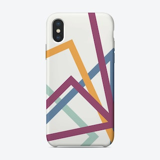 Stream Line iPhone Case