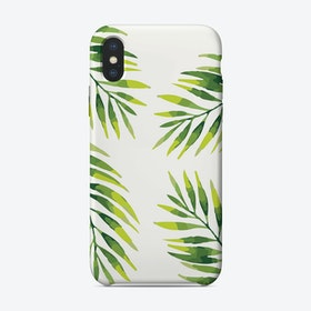 Palms I iPhone Case
