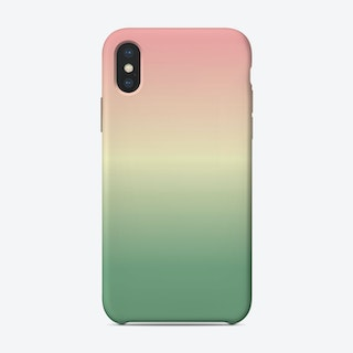 Pastel Ombre iPhone Case