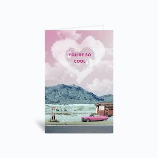 True Romance Movie Greetings Card