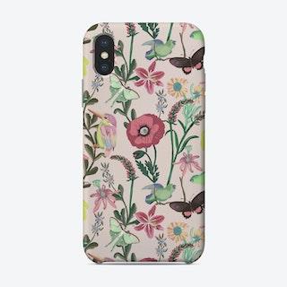 Birds And Butterflies Phone Case