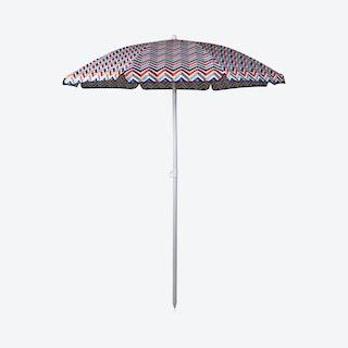 Vibe Collection Umbrella - Navy / Orange