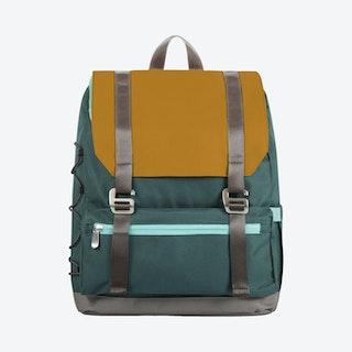 OTG Traverse Backpack - Mustard Yellow / Blue