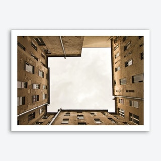 Hinterhof 12 Art Print