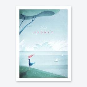 Sydney Art Print