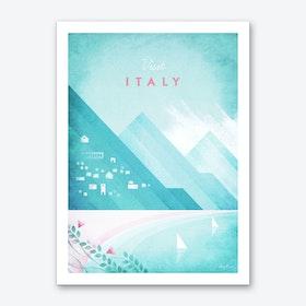 Visit Italy Art Print