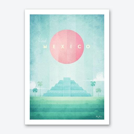 Visit Mexico Art Print