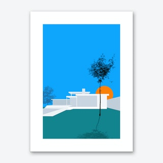 Minimal House 1 Art Print